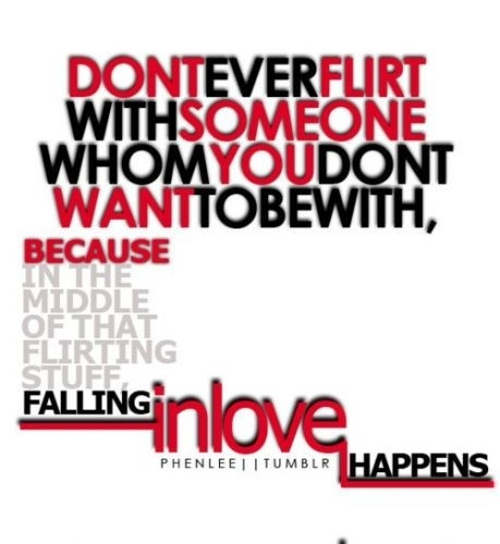 falling in love happens