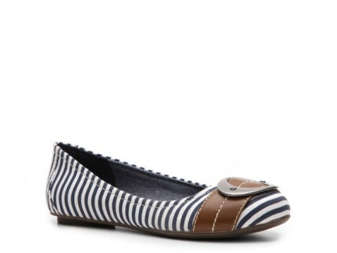 are comfortable, too! Dr. Scholl's Shoes Women's Franca Stripe Flat