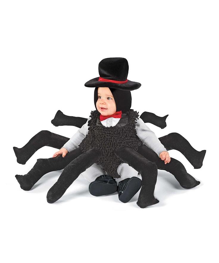 Black Spider Dress-Up Outfit - Infant & Toddler