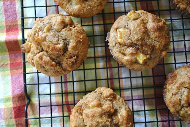 Whole Wheat Apple Muffins | Cook book | Pinterest