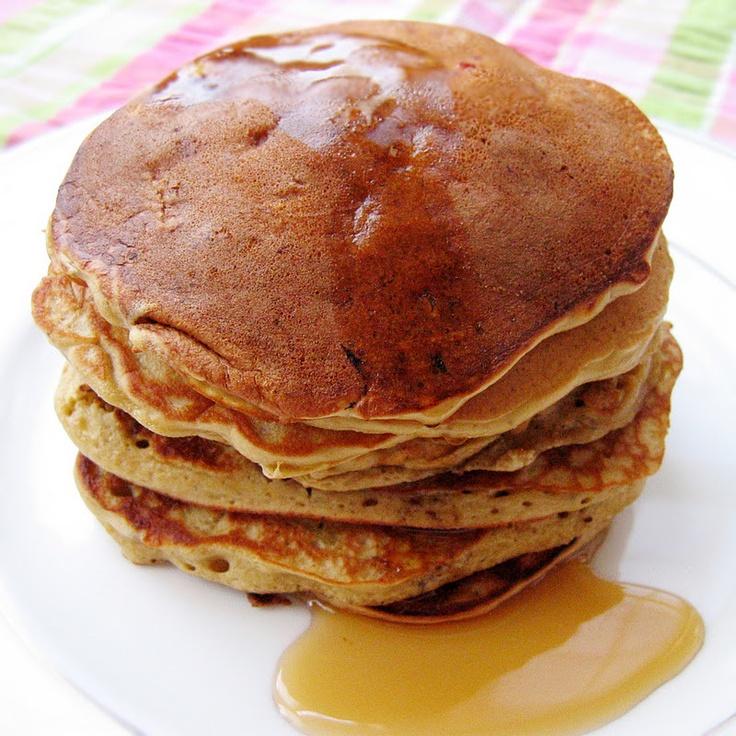 Brown Sugar Peach Pancakes | pancake/waffles | Pinterest
