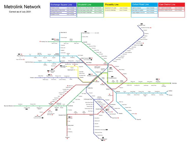 Best 25+ Manchester tram map ideas on Pinterest   Manchester uk ...
