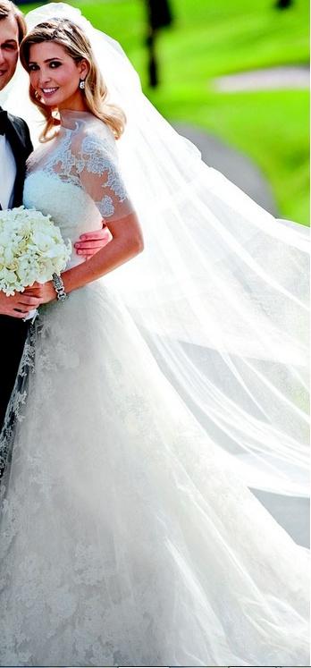 Ivanka trump wedding dress vera