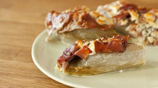 Braised Endive With Ham And Gruyere Recipe — Dishmaps