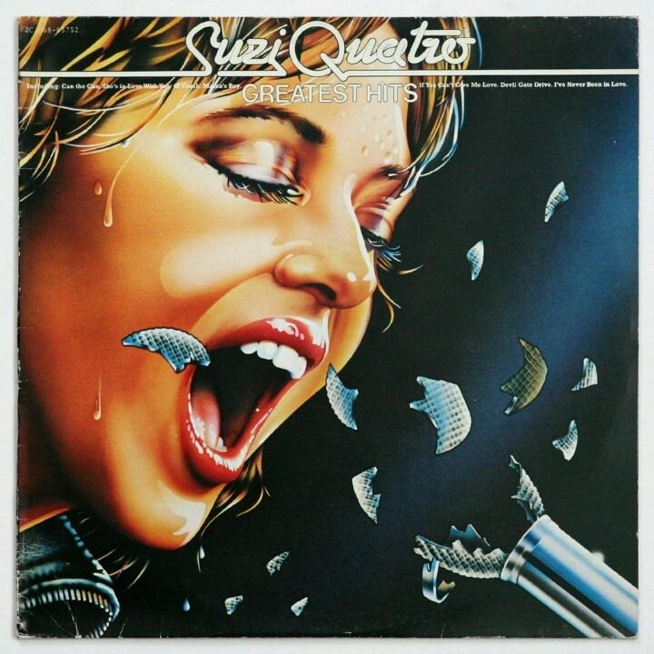 Suzi Quatro - 48 Crash / Little Bitch Blue