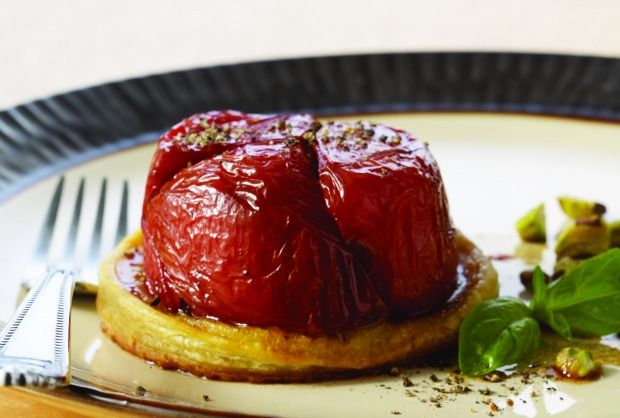Tomato Tarte Tatin | Recipe | Joy of Kosher with Jamie Geller