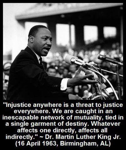 Martin Luther King Jr. Injustice Anywhere