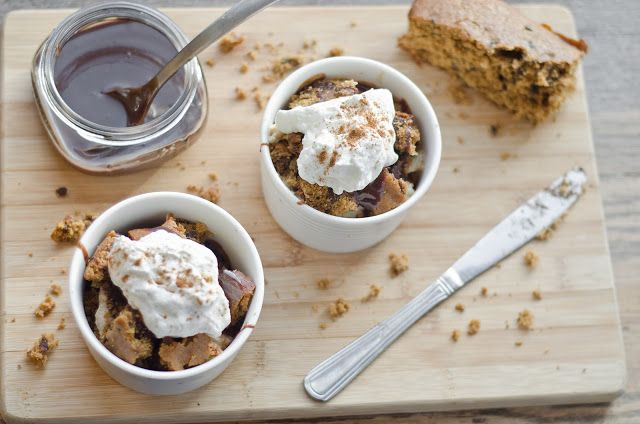 Gingerbread Trifle with Cinnamon Custard | Sweet Tooth | Pinterest