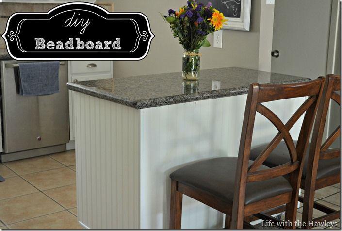 Diy Beadboard Kitchen Island For 20 Diy Projects Pinterest