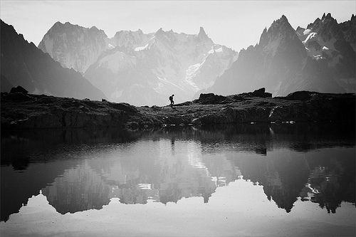 Mountains #blackwhite #hiking