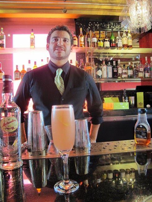 The Savoy Bounce (Bulleit Bourbon, St Germain Elderflower liqueur, Prosecco and lemon)