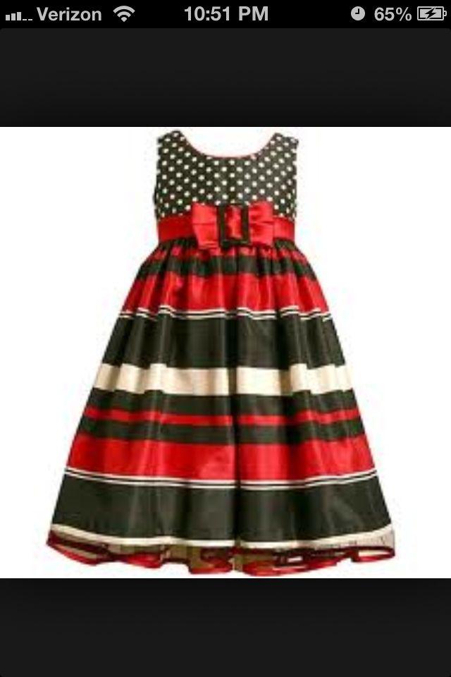 Cute christmas bonnie jean dress little fashionista pinterest