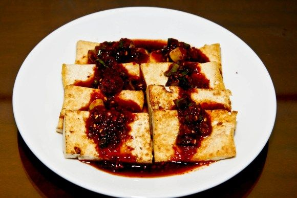 Seasoned Tofu - Korean style. | Healthy recipe | Pinterest
