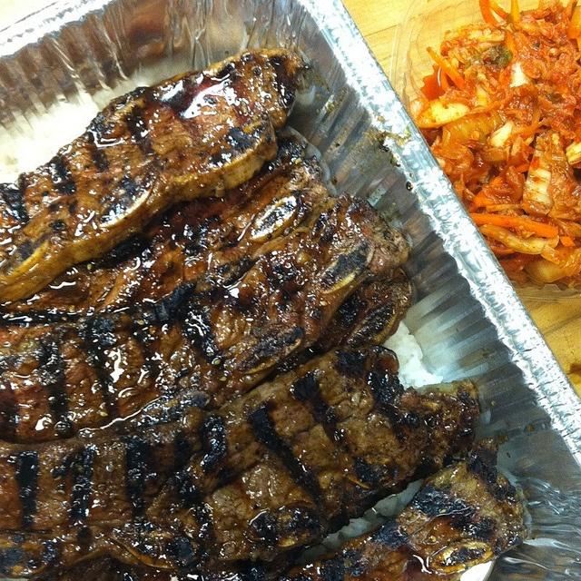 Kalbi Beef Short Ribs - Korean style, like Teriyaki but with sesame ...