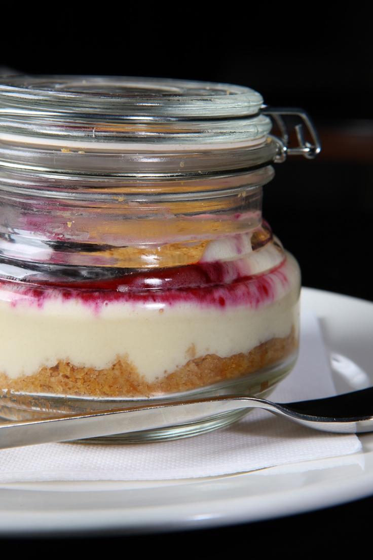 Cheesecake in a jar | Poshcafe Kuwait | Pinterest