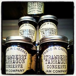 Strawberry Tarragon Conserve by Friend in Cheeses Jam Company