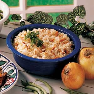 Almond Rice Pilaf | Salmon, Rice pilaf & Corn Salsa | Pinterest