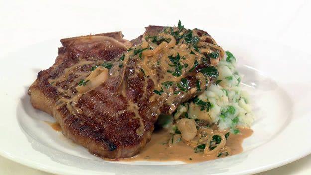 Steak diane | Recipe