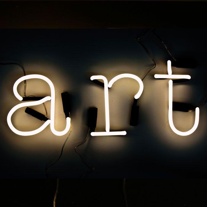 neon art light celebrities pinterest With neon art letters