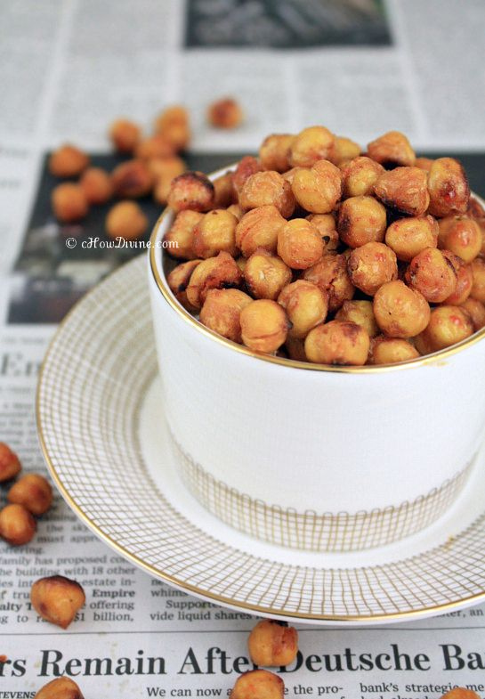 & Spicy Chickpeas | cHowDivine.com {Satisfy sweet, spicy, and salty ...