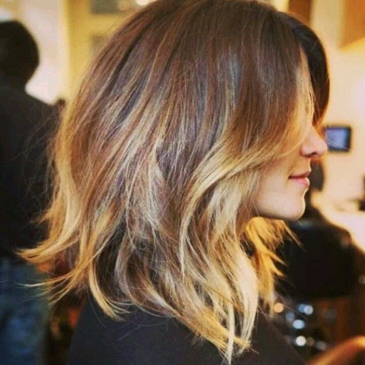 Shoulder Length Hairstyles With Ombre : Ombre shoulder length love hairstyles