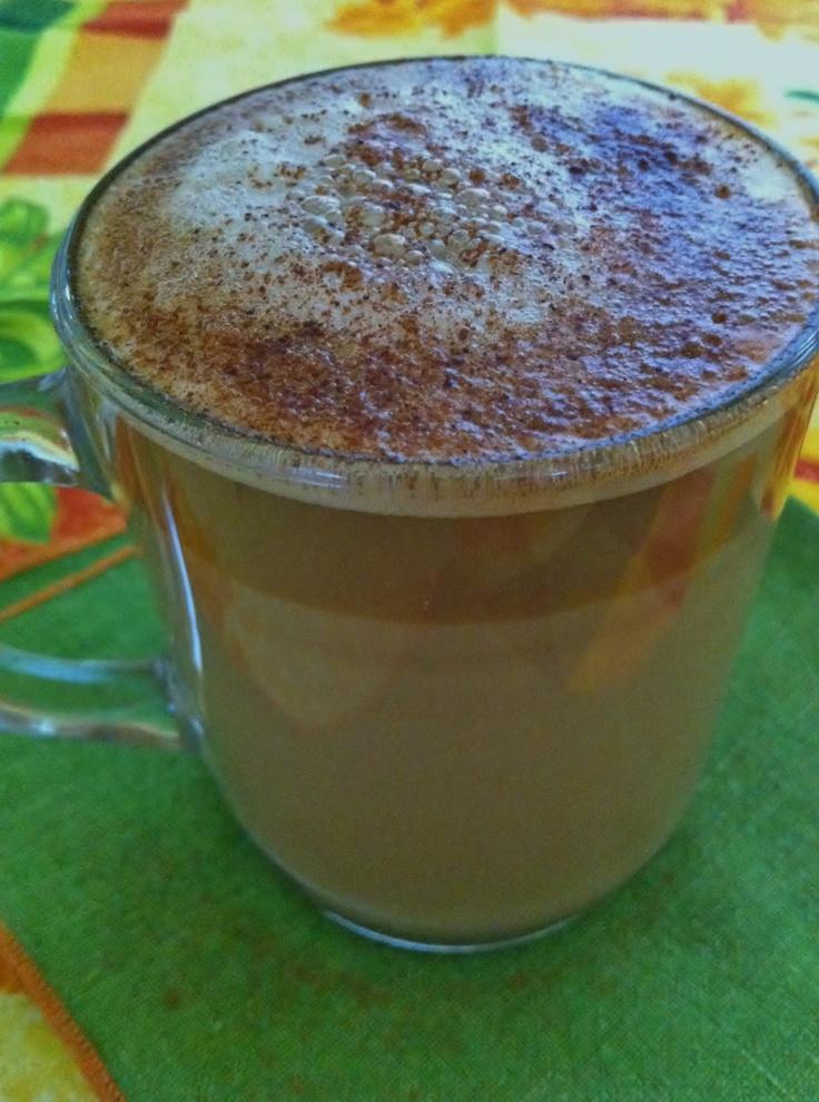 Skinny Pumpkin Spice Latte - Sunday Skinny Breakfast