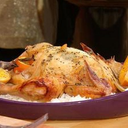 Paula Deen's Orange Rosemary Chicken | Food