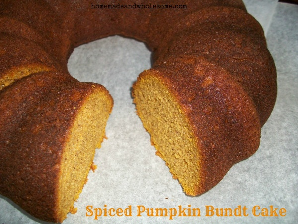 Spice Pumpkin Bundt Cake | Favorite Food/Drinks | Pinterest