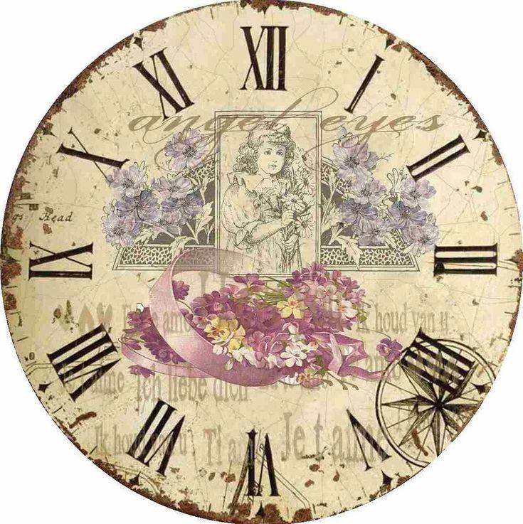 Clock Face Decopax Pinterest