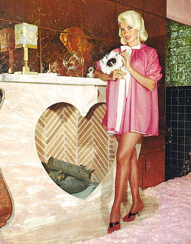 Jayne Mansfield 39 S Pink Palace Sereni And Shentel Pinterest