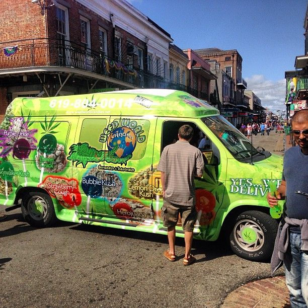 Lol weed delivery truck?! | on the road | Pinterest