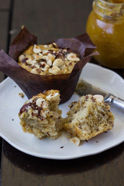 Pear Hazelnut Muffins | Sugarrr Highhh | Pinterest