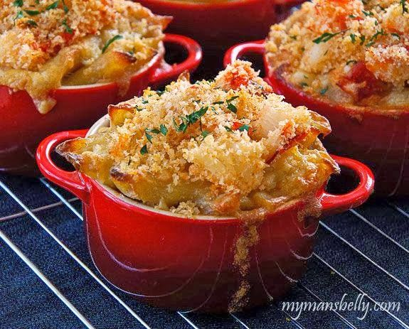 Comfort Food - Lobster Mac and Cheese | Country Chic | Pinterest