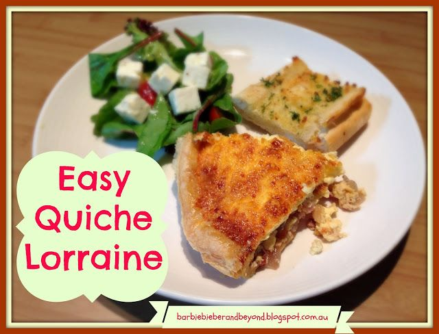 easy quiche lorraine recipe need a easy and freezable