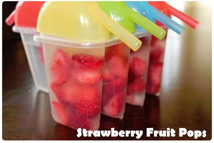 Make Your Own Strawberry Fruit Pops | Recipe