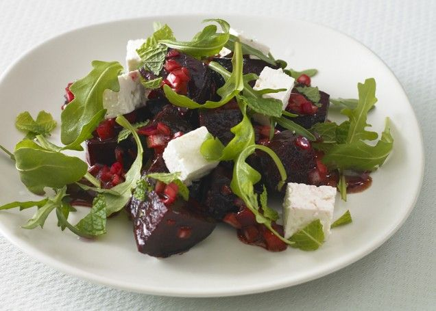 Roasted Beet and Feta Salad: Healthy Valentine's Day Recipes