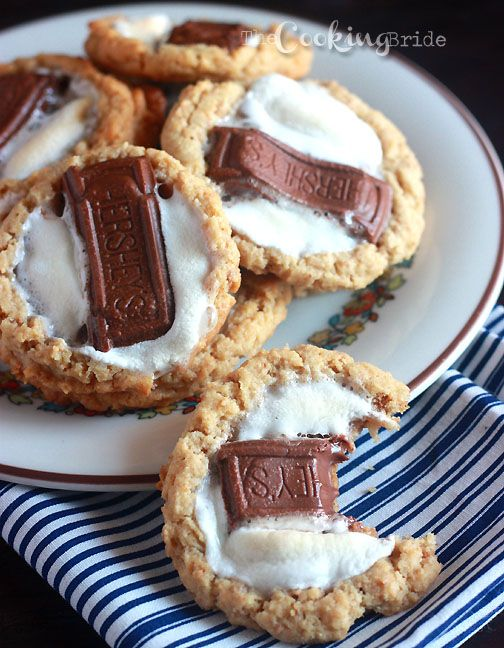Gimme S'more – S'mores Cookies | Cookie | Pinterest