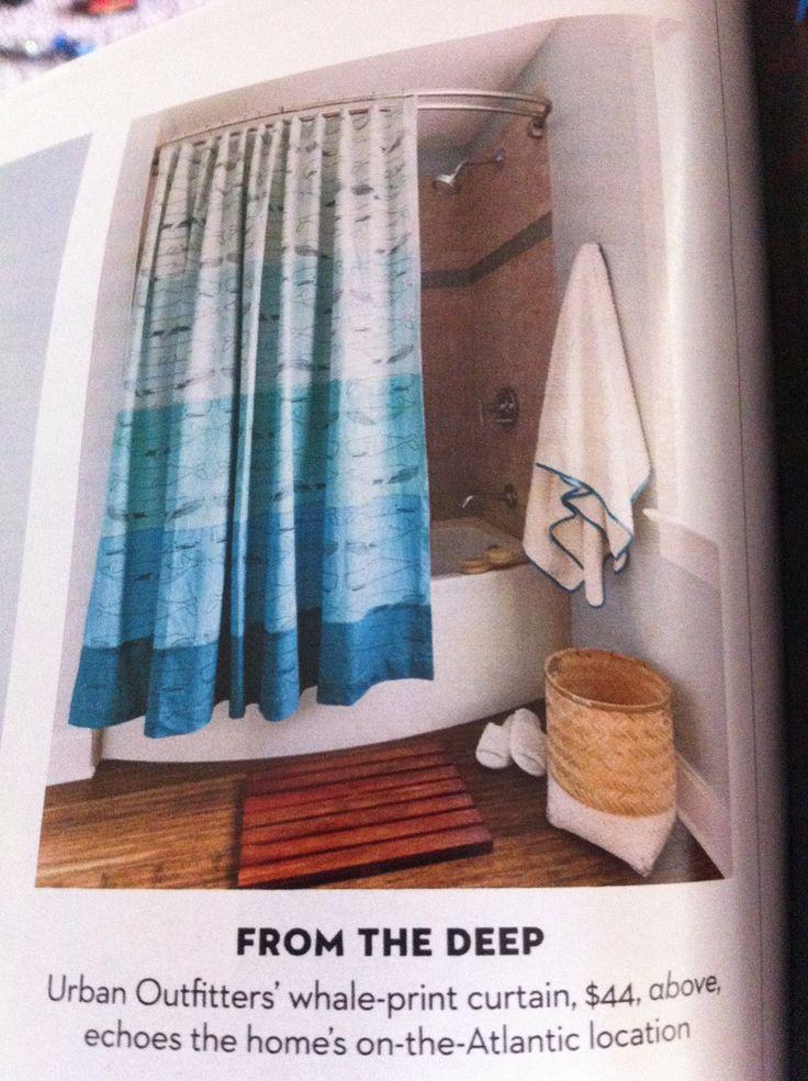Whale shower curtain for boys bathroom apartment livin pinterest