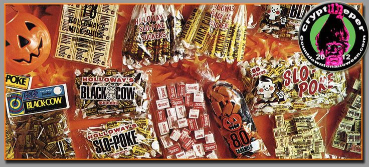 1970s halloween ads vintage candy industry halloween trade ads