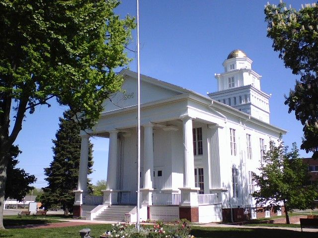 Old Lapeer County Court House.