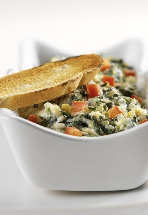 most famous Italian appetizer is the Skinny Spinach Artichoke Dip ...