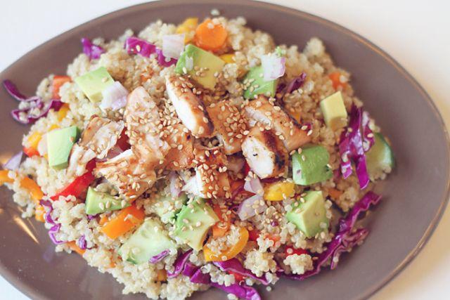 Summer Asian Quinoa Salad 2 | Salads | Pinterest