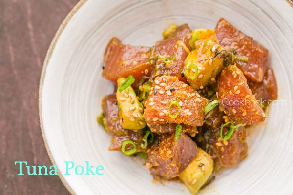 Tuna Poke | Seafood Recipe | Just One Cookbook