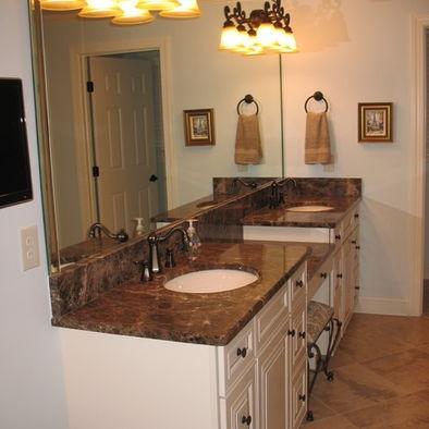 Master bathroom vanities - Section Sitting Area Master Bedroom Bathroom In Process Pi