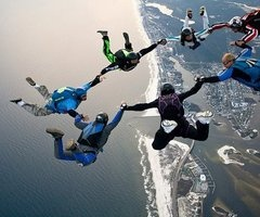 Skydiving.....maybe... (: