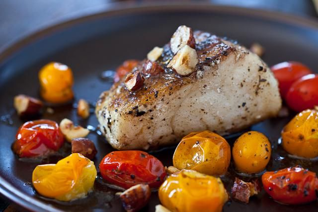 How To Make Cod with Hazelnut Browned Butter