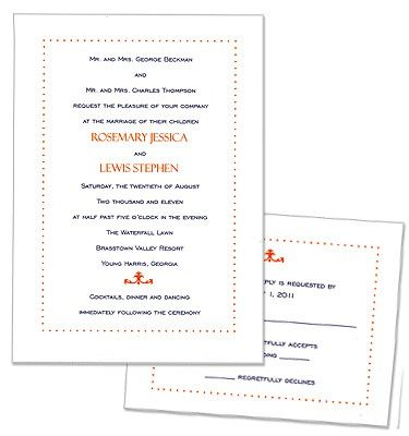 Isabella Wedding Invitations by MyGatsby.com