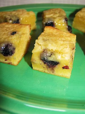 White Chocolate Blueberry Blondies recipe from Valerie's Attempt at ...