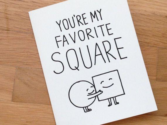Funny Love Card Friendship Romantic Euclidstreetshop