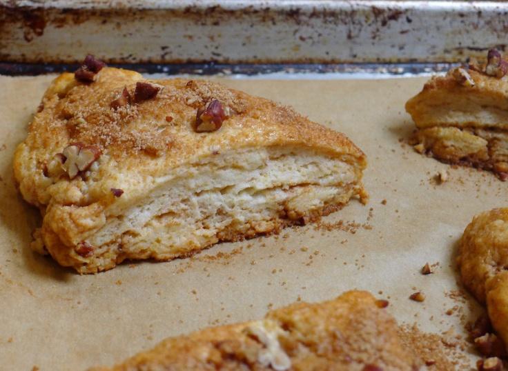 Gluten-Free Pecan Streusel Scones | Silvana's Kitchen